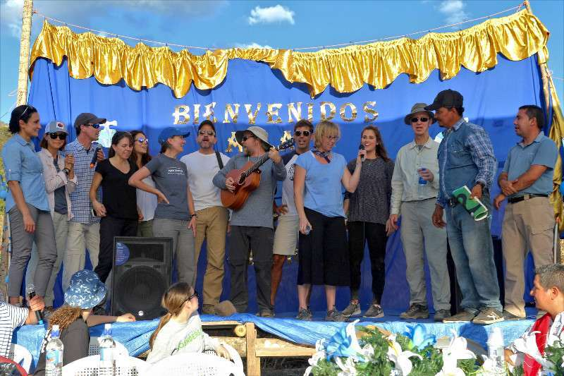 Our group represented by singing John Denver's 'Country Roads' and 'Free Falling' by Tom Petty