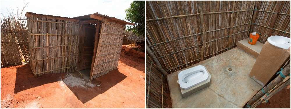 GSB has developed a terrific bathroom design that provides an odorless, flush toilet, a handwashing basin and a place to bathe.